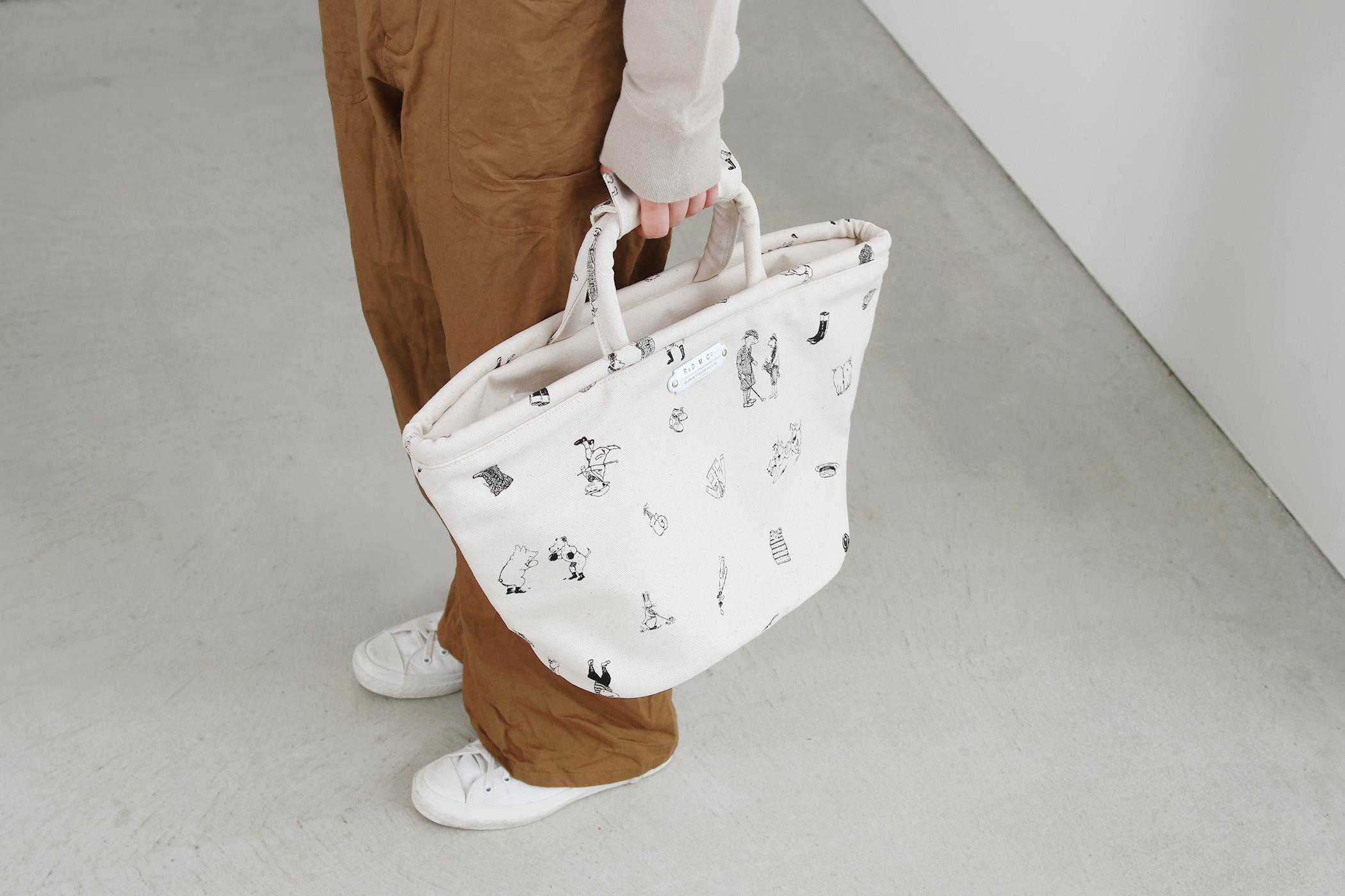 B.S PRINT MARCHE BAG(SMALL)