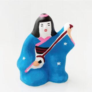 尾崎人形 |三味線弾き