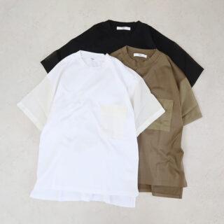 UNIVERSAL TISSU ユニヴァーサルティシュ |マルチエフェクトジャージー ポケットTシャツ【全3色】