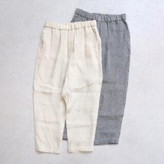 OLDMANS TAILOR オールドマンズテーラー |DENSELY LINEN SARROUEL GOM PANTS 【全2色】