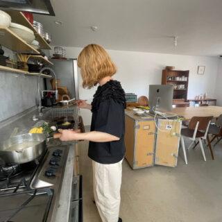 会社のキッチン