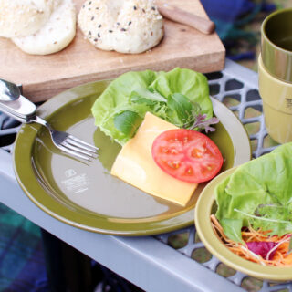 AS2OV アッソブ |FOOD FORCE CAMPING MEAL KIT プレート