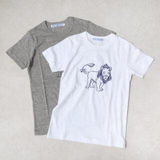 OLDMANS TAILOR オールドマンズテーラー  LION T-SHIRT【全2色】
