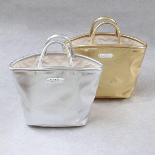 OLDMANS TAILOR オールドマンズテーラー  METALLIC MARCHE BAG (SMALL)【全2色】