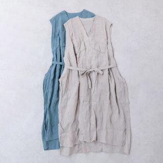 suro スロ |トロンプルイユチュニックドレス【全2色】