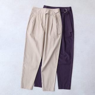 humoresque ユーモレスク  waist belt pants【全2色】